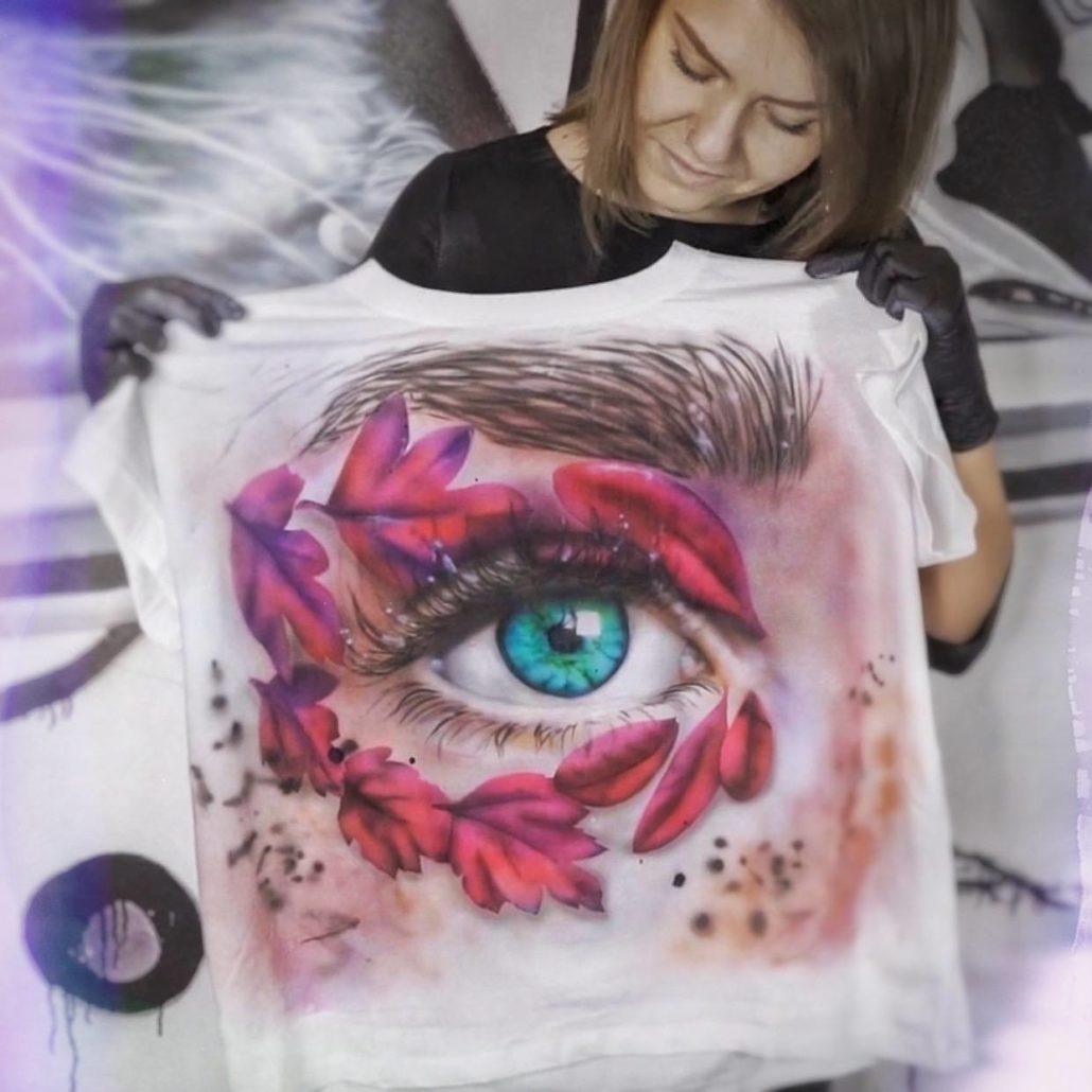 онлайн курс роспись по ткани роспись футболки OneAir